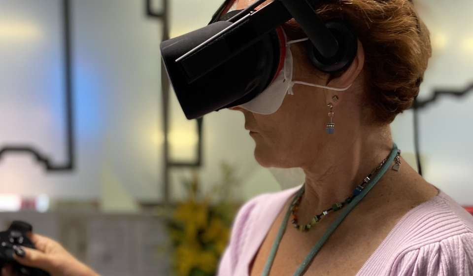 Virtual Reality: Making Dementia Care Meaningful to the Next Generation of Care Givers (Presentation)