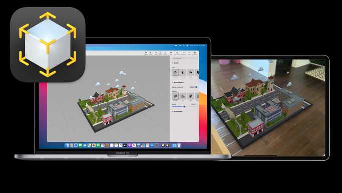 Developing Augmented Reality (AR) immersive experiences in Apple's Reality Composer (Workshop)